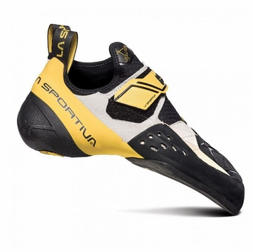 La Sportiva Solution White Yellow
