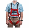 Liberty Mountain Rope Course Full-Body Harness Red S