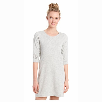 Lole Womens Lollipop Dress Light Grey Heather