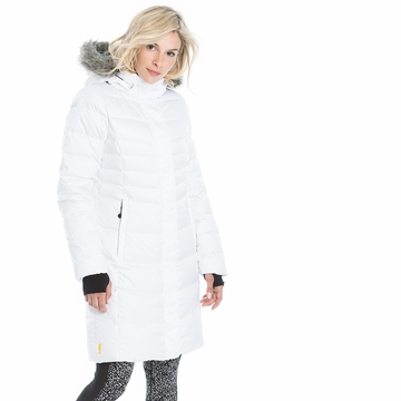 Lole Womens Katie Jacket White