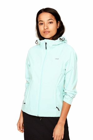 Lole Womens Lainey Jacket Clearly Aqua
