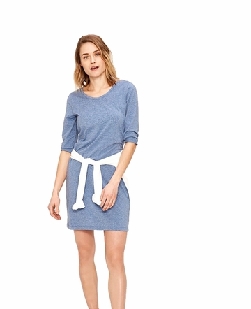 Lole Womens Luisa 3 Dress Light Denim Heather