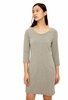 Lole Womens Luisa 3 Dress Medium Grey Heather (Close Out)