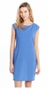 Lole Womens Luisa Dress Blue Heather