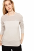 Lole Womens Maelle Sweater Light Grey Heather