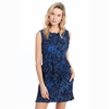 Lole Womens Marina Dress Midnight Digifleur (Close Out)