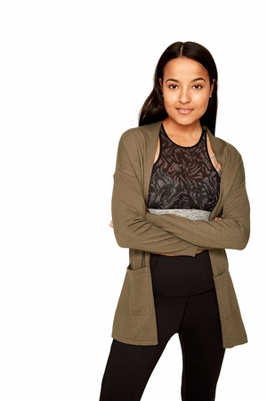 Lole Womens Marnie Cardigan Mount Royal