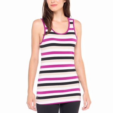 Lole Womens Pinnacle Top Passiflora Multi- Stripes (Spring 2015)