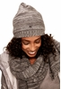 Lole Womens Reverse Knit Slouch Hat Antarctica