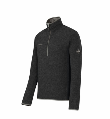 Mammut Mens Phase Zip Pull Graphite