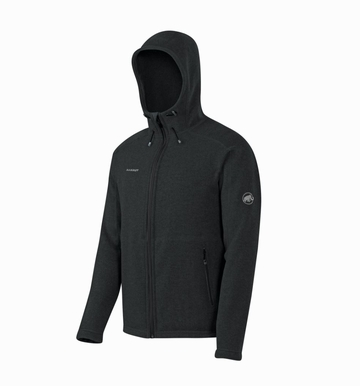 Mammut Mens Polar Hooded Midlayer Jacket Graphite