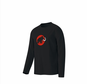 Mammut Mens Snow Longsleeve Black Small