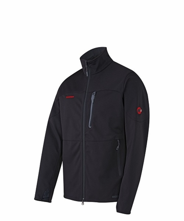 Mammut Mens Ultimate Jacket Black/ Black