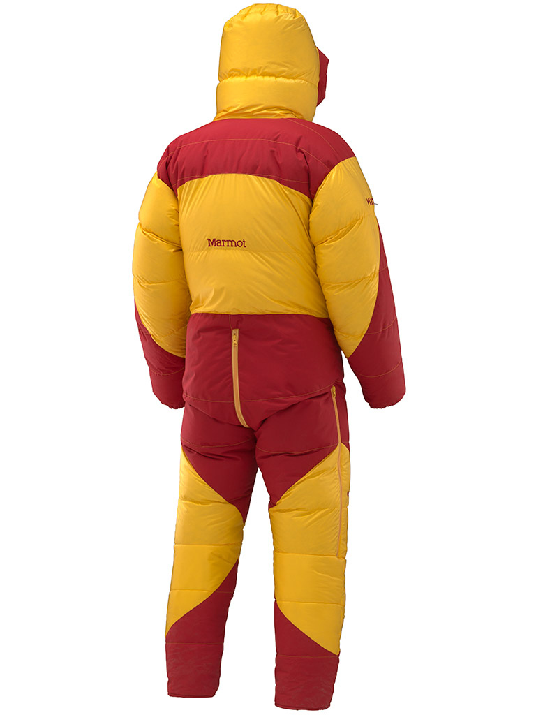 Marmot 8000m Down Suit Golden Yellow Fire