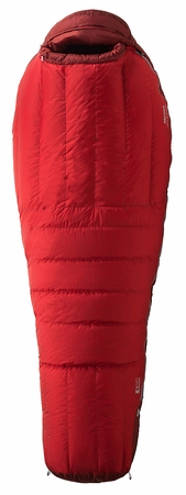 Marmot CWM MemBrain -40 Sleeping Bag Long Left Zip Team Red/ Redstone