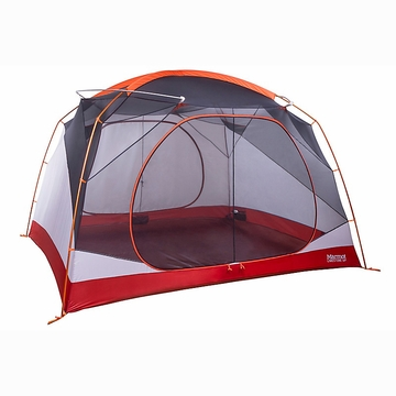 Marmot Limestone 6 Person Tent Orange Spice/Arona