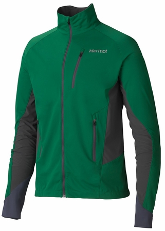 Marmot Mens Fusion Jacket Rich Forest/ Slate Grey (close out)
