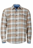 Marmot Mens Jasper Flannel Long Sleeve Dark Maple