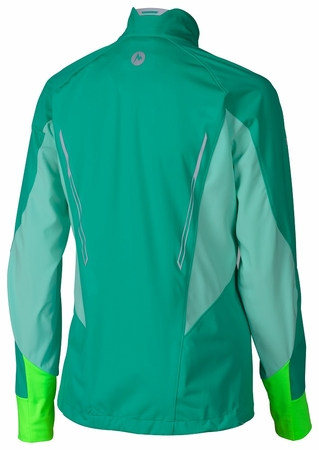 Marmot Womens Fusion Jacket Gem Green/ Ice Green