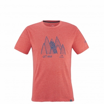Eider Mens Yulton Tee 2.0 Crimson Red Get High