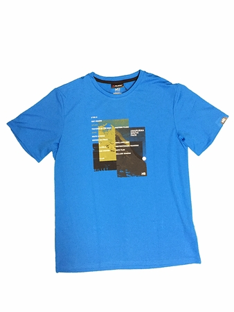 Millet Mens La Face T Shirt SS Electric Blue