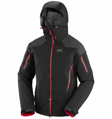 Millet Mens Alpinist GTX Stretch Jacket Black