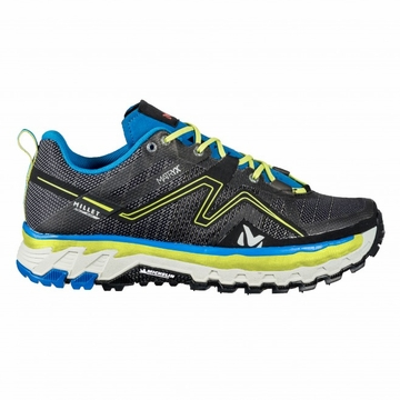 Millet Mens Alpine Rush Grey/ Electric Blue