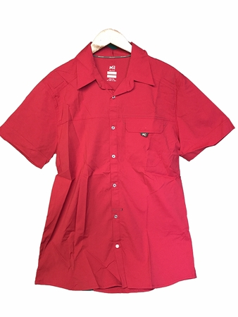Millet Mens Backcountry Stretch Shirt Deep Red