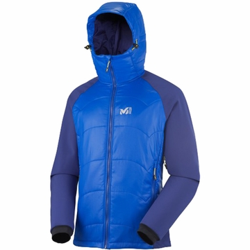 Millet Mens Belay Hybrid Jacket Ultra Blue/ Sky Diver XXL