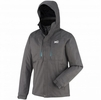 Millet Mens Black Mountain 3 in 1 Jacket Heather Grey/ Electric Blue