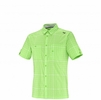 Millet Mens Castle Peak Stretch Shirt Acid Green