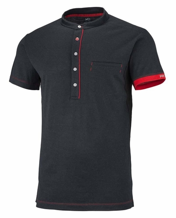 Millet Mens Changtang Polo Black/ Noir