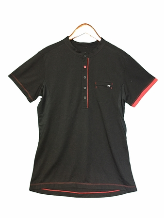 Millet Mens Changtang Wool Polo Black/ Noir