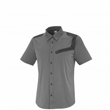 Millet Mens Clark Peak Tech Shirt Short Sleeve Tarmac