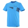 Millet Mens Cross Road T Shirt Short Sleeve Electric Blue/ Ink