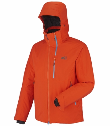 Millet Mens Curve Stretch GTX Jacket Bright Orange
