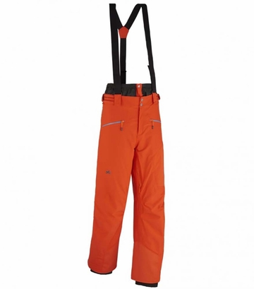 Millet Mens Curve Stretch GTX Pants Bright Orange