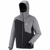 Millet Mens Cypress Mountain Jacket Noir/ Heather Grey