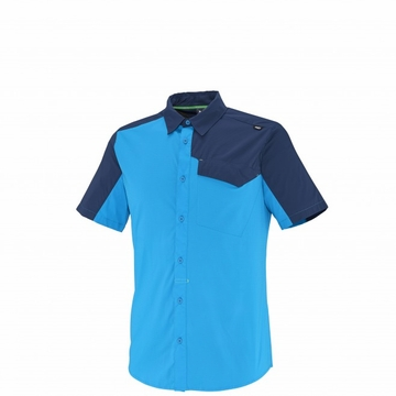 Millet Mens Deep Creek Shirt Electric Blue