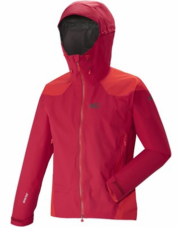Millet Mens Dual Ascent GTX Jacket Deep Red/ Rouge