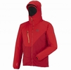 Millet Mens Elevation Windstopper Jacket Deep Red/ Rouge