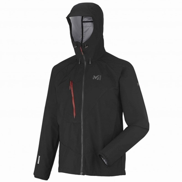 Millet Mens Elevation Windstopper Light Hoodie Black/ Noir