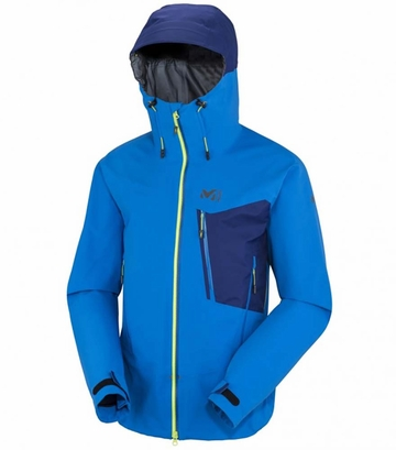 Millet Mens Grepon GTX Stretch Jacket Sky Diver