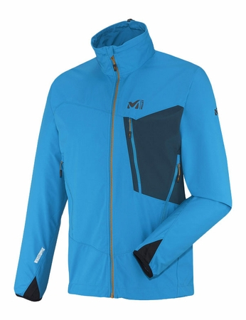 Millet Mens Grepon Windstopper Light Jacket Electric Blue/ Majolica Blue