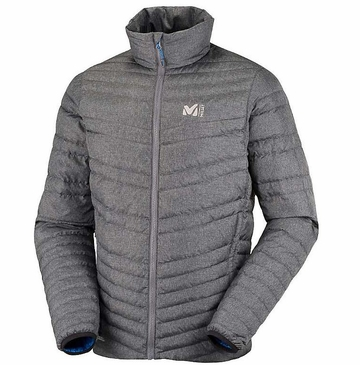 Millet Mens Heel Lift Down Jacket Deep Heather
