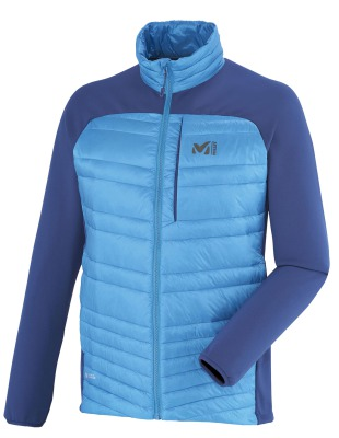 Millet Mens Hybrid Heel Lift Jacket Electric Blue/ Estate Blue