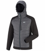 Millet Mens Hybrid Shuksan Hoodie Heather Grey/ Noir