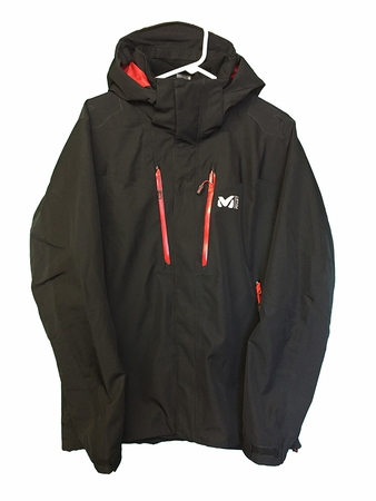 Millet Mens Jackson Peak Jacket Black/ Noir