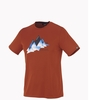 Millet Mens Jorasse T Shirt Short Sleeve Rust