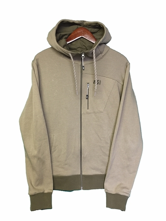 Millet Mens K Spirit Hoodie Light Khaki